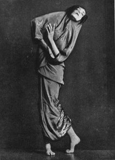 Traumgestalt (1927) by Mary Wigman