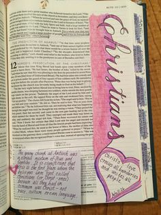 Acts 11:26 bible journaling