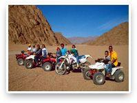 Sharm El Sheikh, Egypt, Quad biking