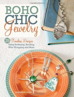 Shows how to make: silverware jewelry, broken china jewelry, button jewelry, stamped soldered jewelry, and more