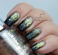 Glitter Gradient!   A England - Camelot A England - She Walks in Beauty
