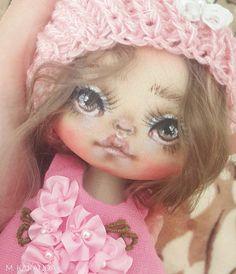 Малышуля.  новенькая крошка.  Есть пока свободные малышки - на них скидочки, если интересует - пишите.  #Москва#арт#красота#девочкитакиедевочки#хендмейд#авторскаякукла#кукла#художник#рисую#красота#арт#marickdoll