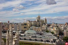 Los tejados de la Calle Alcalá