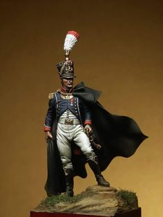 Ufficiale superiore della fanteria francese