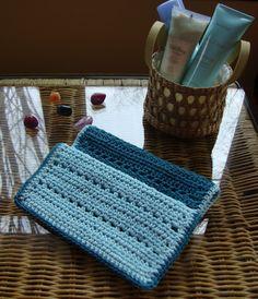 Blue Lagoon Spa Cloth free crochet pattern