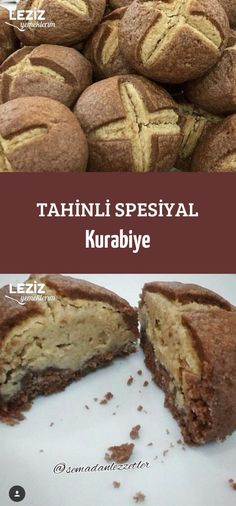 Tahini Special Cookies - My Delicious Food - Cheesecake Recipes Tahini, Cheesecake Recipes, Cookie Recipes, Dessert Recipes, Desserts, Banana Bread Easy Moist, Bbq Chicken Sandwich, How To Cook Potatoes, Coconut Macaroons