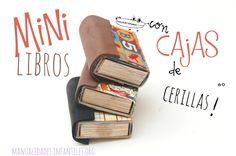 ¿Quieres saber cómo se hacen estos libros en miniatura?