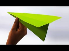 Origami Paper Art: How To Fold A Paper Airplane That Flies Far - Very... Origami Paper Plane, Origami Airplane, Origami Art, Fly Plane, Easy Video, Travel Themes, Craft Videos, Paper Size, Simple