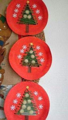 Dekoration Weihnachten – 4 Awesome DIY Easy Christmas Ornaments Design Ideas 4 Awesome DIY Easy Christmas Ornaments Design Ideas Source by cocobinnsLove these string trees!christmas crafts for kids to make easy - SalvabraniChristmas tree in the paper pl Easy Christmas Ornaments, Christmas Crafts For Kids To Make, Christmas Paper Crafts, Preschool Christmas, Simple Christmas, Christmas Decorations, Diy Ornaments, Christmas Trees, Christmas Crafts For Kindergarteners