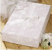 wedding dress box