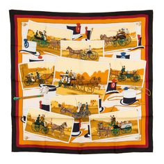 Hermes Silk Scarf  (Authentic Pre Owned) #Hermes #Scarf