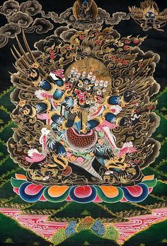 VAJRAKILAYA - Irrepressible Remover of all obstructions that prevent Clear Seeing of Reality As It Is.