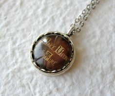 Once Upon A Time Storybook Petite Necklace - Inspired by ABC's Once Upon A Time on Etsy, $15.00