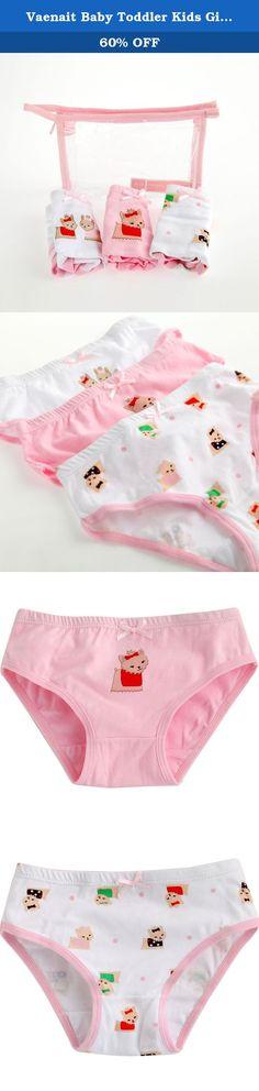 b2a4b254520 Vaenait Baby Toddler Kids Girls Briefs 3-Pack Underwear Set Brief Happy Pet  XL (