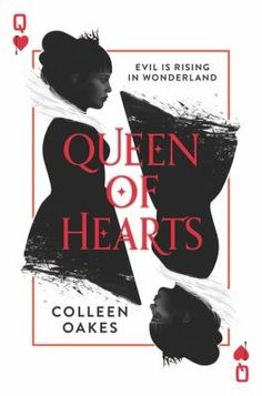 Queen of Hearts by Colleen #Oakes The origins of the Queen of Hearts from Alice In Wonderland are explored in this entertaining story. Dinah looks forward to the day she will reign over the Kindgom, until her father reveals she has a sister who may usurp her place. In search of answers, Dinah & Wardley, the boy she hopes to marry, travel to the Black Towers. A frightening turn of events forces the pair to flee, setting off an adventure that's as dark as the rabbit hole. #MedinaLibrary…