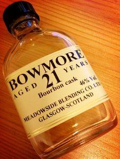 Bowmore 21 [The Maltman] | LivingRoom Whisky