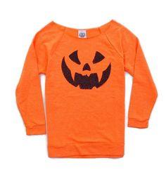 Halloween Shirt Women. Pumpkin Shirt. Jack O by ICaughtTheSun