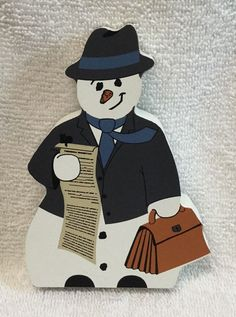 Cats Meow Lawyer Snowman Wood Holiday Winter Attorney Law 07 123 Gift Christmas | eBay