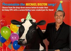 'Michael Bolton Birthday Song (Personalized Lyrics)' is one of thousands of American Greetings cards you can personalize, share, and send to your friends and family.