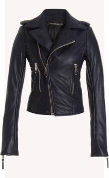 Balenciaga Motorcycle Jacket. No doubt way pricier than my Michael Kors. :)