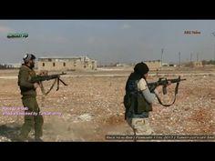 Guerra na Síria - Terroristas pró-turcos cortam Exército Sírio de Al-Bab...