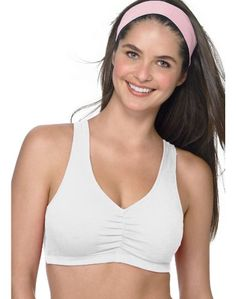 43864cc90ed23 Hanes Sport Cotton Pullover Bra 2 Pack   H370 Cotton Sports Bra