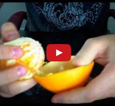 Turns Out, You've Been Peeling Oranges Wrong Your Whole Life!