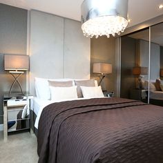 On the first floor there is a good-sized master bedroom with @villeroyandboch  ensuite.#Strata #Bedroom #Decor