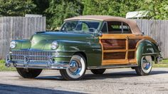 1948 Chrysler Convertible Maintenance/restoration of old/vintage vehicles: the material for new cogs/casters/gears/pads could be cast polyamide which I (Cast polyamide) can produce. My contact: tatjana.alic@windowslive.com
