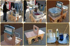 Hand-operated Wringer Washer