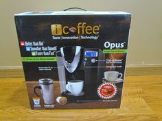 Mommy's Favorite Things: iCoffee Opus Review