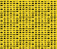 Evolution of Batman fabric by bm_design_studio on Spoonflower - custom fabric - http://www.spoonflower.com/designs/3459147