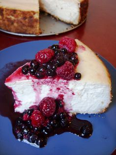 The Betty Goes Vegan New York Cheesecake  Try with gluten free flour.