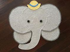 40 Crochet Elephant rug Elephant Rugcrochet rug