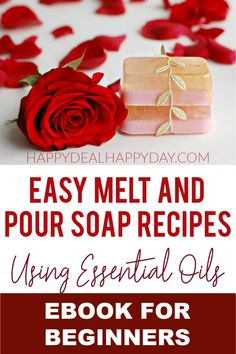 Learn how to make 10  different melt and pour soap recipes using essential oils! This eBook shows you how easy homemade soap recipes are and how to make DIY soap bars! This diy soap makes excellent gifts for any season! This eBook includes soap labels you can print out and wrap around each bar! #essentialoils #homemadesoaprecipe #diysoap #diysoapbars Homemade Christmas Gifts, Homemade Gifts, Diy Gifts, Diy Christmas, Holiday Gifts, Homemade Hashbrown Recipes, Homemade Soap Recipes, Unique Gifts For Girls, Gifts For Teens
