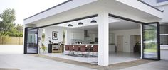 Burghfield House Burghfield House - New Ideas House Extension Design, Roof Extension, Extension Ideas, Garden Room Extensions, House Extensions, Open Plan Kitchen Living Room, Backyard Patio Designs, Outdoor Kitchen Design, Pool Houses