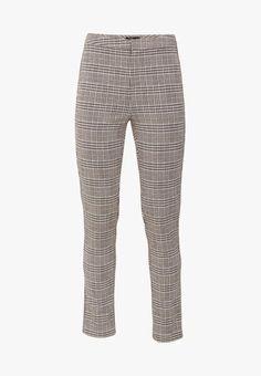 OVS Pantalon classique - black/brown - ZALANDO.FR Quoi Porter, Black And Brown, Pajama Pants, Pajamas, Sweatpants, Suits, Fashion, Pjs, Moda