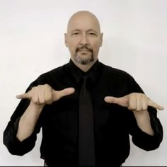 """stay"" American Sign Language (ASL)"