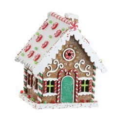"3216159 - 9"" GINGERBREAD HOUSE"