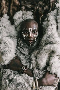 Portrait Studies: Milandou – The Denizen Co. Portrait Studies: Milandou – The Denizen Co.,Warriors & Tribes Milandou AKA Young Paris is an internationally acclaimed musician and creative director currently residing in Brooklyn, NY. Afro Punk, African Culture, African Art, African Tribal Makeup, African Face Paint, African Tribes, Young Paris, Urban Lifestyle, Male Character