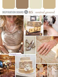 Inspiration Board #85: Neutral Ground | Elegance & Enchantment