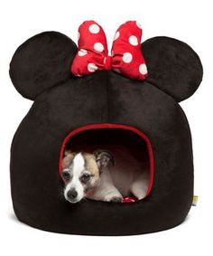 Set up a snuggly space for your furry friend to snooze with this cozy domed pet bed. Includes bed and removable cushion18'' H x 15.5'' diameterPolyesterSpot cleanImported