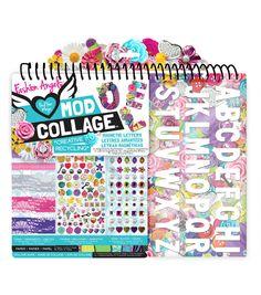 Fashion Angels Mod Collage Alphabet Letter Kit