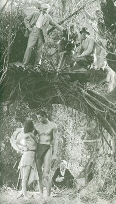 "Movie Set of ""Tarzan"""