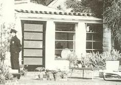 Marilyns house the day she died. Aug 5, 1962