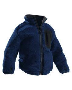 Børne fiberpels jakke, Jackets (48792505) - Blåkläder