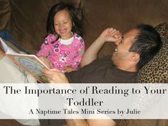 """Wide World of Speech Therapy: """"The Importance of Reading to Toddlers"""" Guest Post at Naptime Tales"""