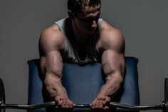 Tip: For Bigger Biceps, Do Mechanical Drop Sets Fitness Tips For Men, Health And Fitness Tips, Preacher Curls, Big Biceps, Resistance Band Exercises, Gain Muscle, Build Muscle, Bodybuilding Workouts, Workout Challenge