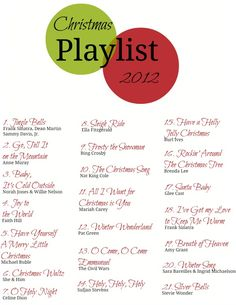 Christmas Playlist 2012 --Music decorates your home right? Christmas Time Is Here, Noel Christmas, Merry Little Christmas, Christmas Music, Winter Christmas, Karaoke, Christmas Playlist, Merry And Bright, Christmas Inspiration