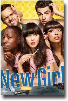 New Girl Poster - TV Show Promo Flyer 11 x 17 Mirror Poster for sale at concertposter.org